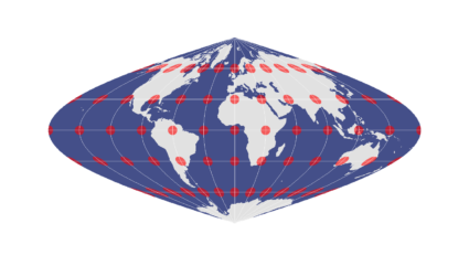 Sinusoidal Equal Area Projection2