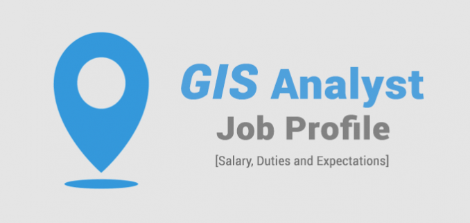 gis analyst job profile