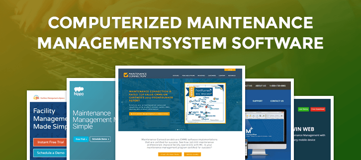 Computerized Maintenance Management System Software