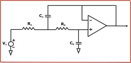 sallen-key巴特沃斯有源低通滤波器在线计算器